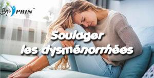 soulager les dysménorrhées